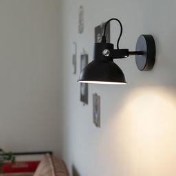 Industriële verstelbare armatuur, te installeren als wand- of plafondlamp