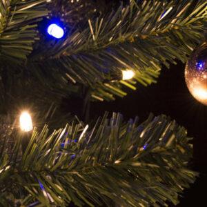 Kerstverlichting warm wit en fonkel