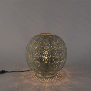 Oosterse tafellamp of vloerlamp 32cm