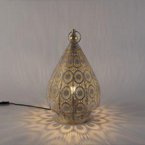 Oosterse tafellamp of vloerlamp 28cm